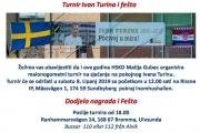 Malonogometni turnir Ivan Turina 2019